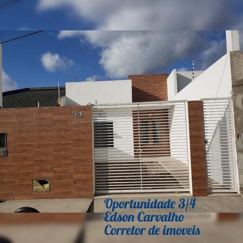 Oportunidade Casa diferenciada Padrão Moderno 3/4 a 5 minutos do shopping boulevard