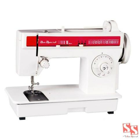 Máquina de costura doméstica, Sun Special ideal para costureiras e alfaiates. Rápida