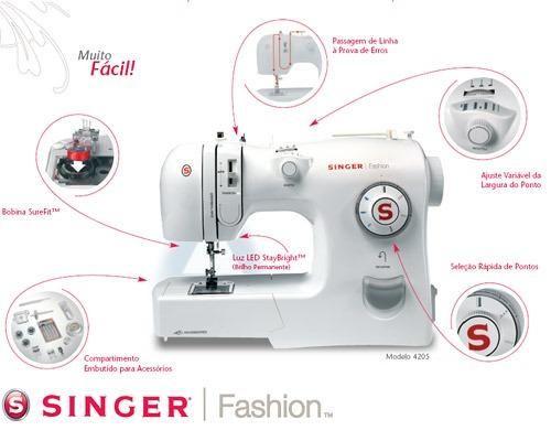 Maquina De costura Singer Fashion Domestica