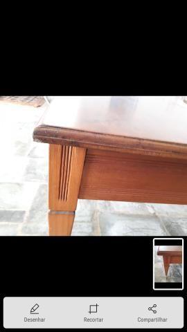 Mesa peroba mica conservada - Foto 3