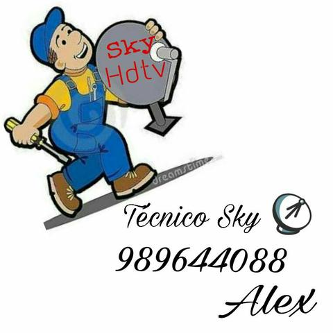 Assistência técnica autorizada sky