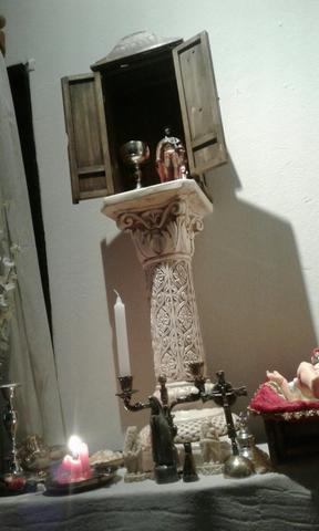 Oratório estilo colonial