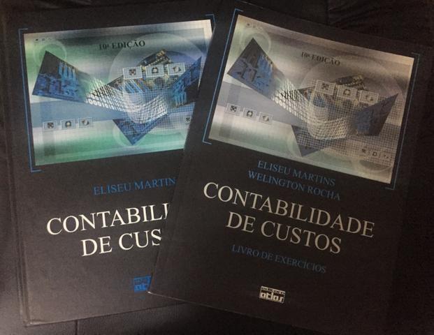 Livros contabilidade de custos Eliseu Martins