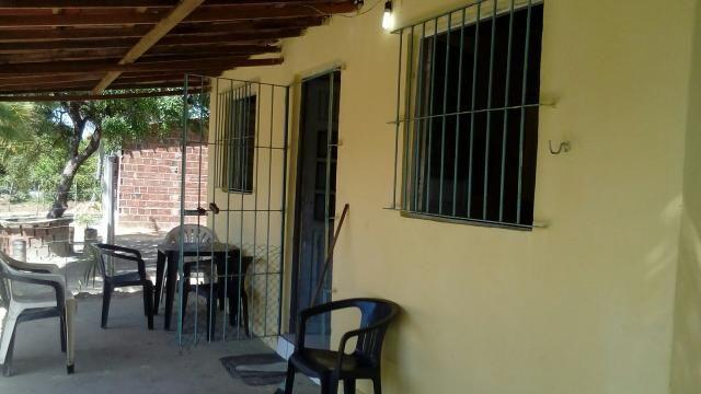 Terreno com casa em Itamaracá no pilar
