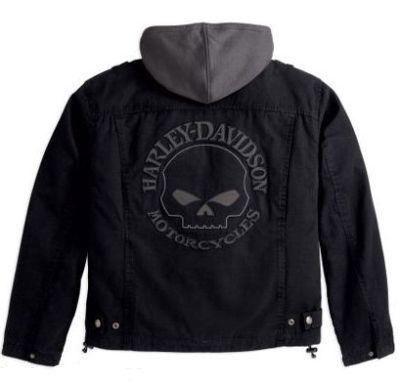 Jaqueta Skull Harley Davidson cordura