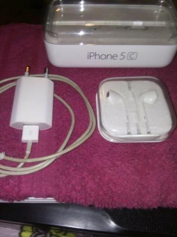 Iphone 5c 8g amarelo novíssimo sem risco algum - Foto 6