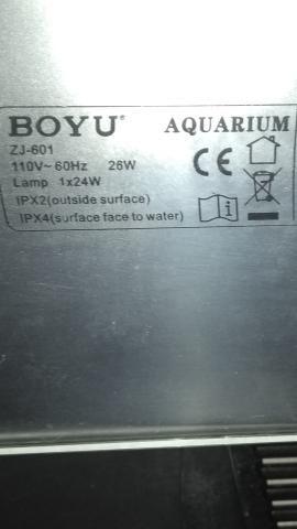 Aquário Boyu ZJ-601 / 60 Litros - Foto 6