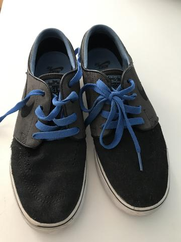 Tênis Stefan Janoski Sb Max - Cor Cinza - Roupas e calçados ... 9a255670d0883
