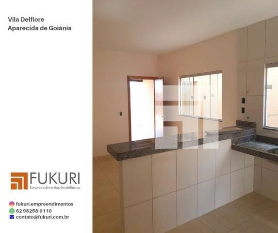 Casa Vila Delfiore 2Q c/ suíte - Aparecida de Goiânia - Foto 5