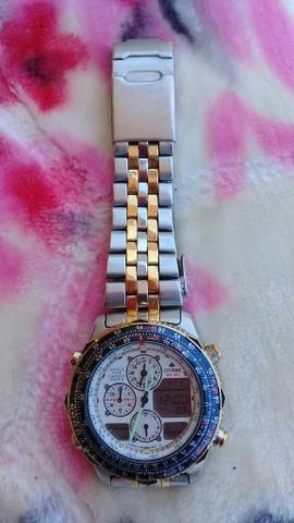 90817a75fd0 Relógio citizen promaster hora mundi - Bijouterias