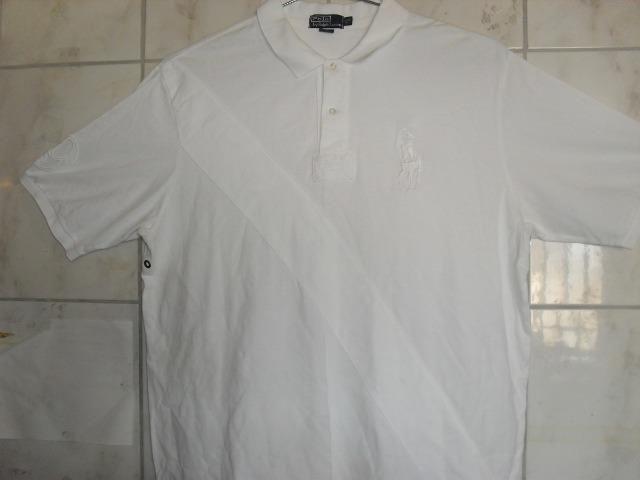 Camisa Polo Ralph Lauren Tamanho Especial XG a G3 Lisa e Listrada Medico  Dentista 59a6a6574cd