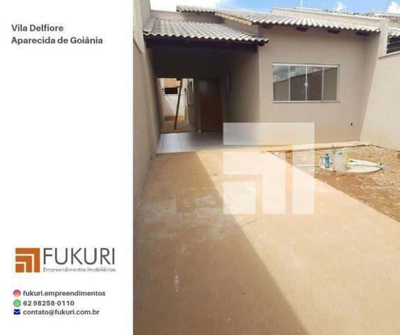 Casa Vila Delfiore 2Q c/ suíte - Aparecida de Goiânia - Foto 2