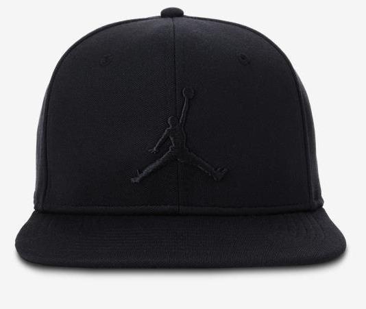 Boné Nike Air Jordan Snapback Preto - Bijouterias f90e456a0ca