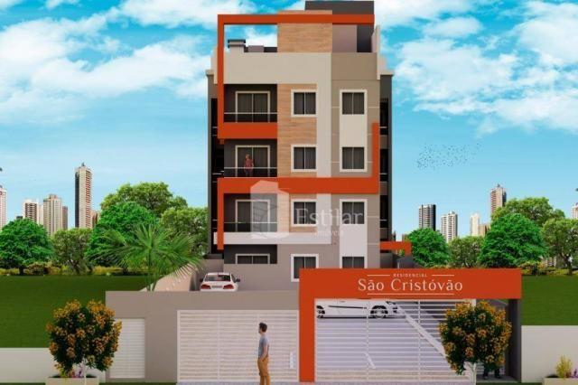 Apartamento garden com 3 quartos no são cristóvão - são josé dos pinhais/pr - Foto 3