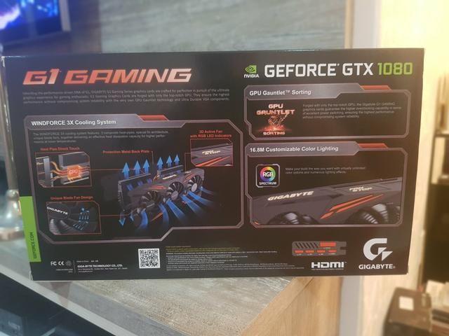 Placa de Video GeForce GTX 1080 G1 Gaming 8G