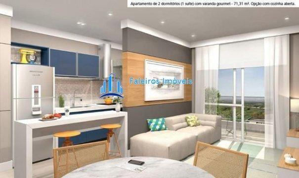 Aparatmento 2 e 3 dormitórios - Sacada gourmet - Lazer - Apartamento em Lançamen... - Foto 15