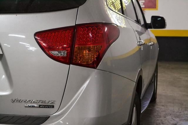 Hyundai Veracruz GLS 3.8 - Blindado Steel - Impecável - Pneus novos - 2010 - Foto 4