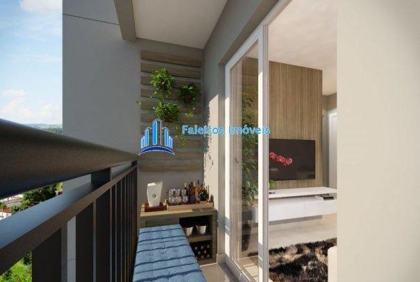 Apartamento 2 dormitórios com sacada e lazer completo - Apartamento em Lançament... - Foto 9