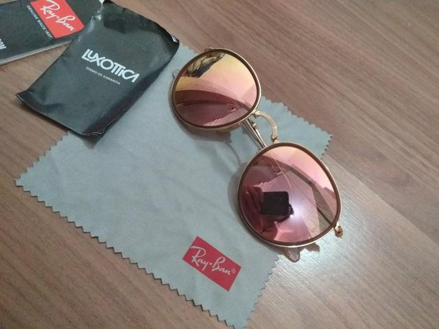 bd8820fb52 Rayban original rosê dobrável - Bijouterias, relógios e acessórios ...