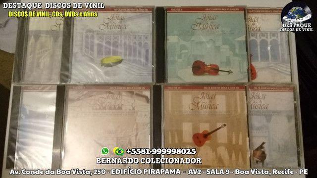 CDS de Novelas e Filmes, Coleções de Clássicos e Tenores, DVDs e Discos de Vinil