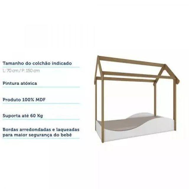 Mini cama montessoriana uli CR552