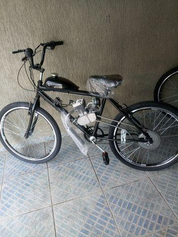 Bicicleta motorizada 80cc - Foto 4