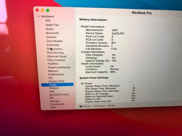 """MacBook Pro Retina Apple 15"""" 2018 Cinza-espacial - Foto 5"""