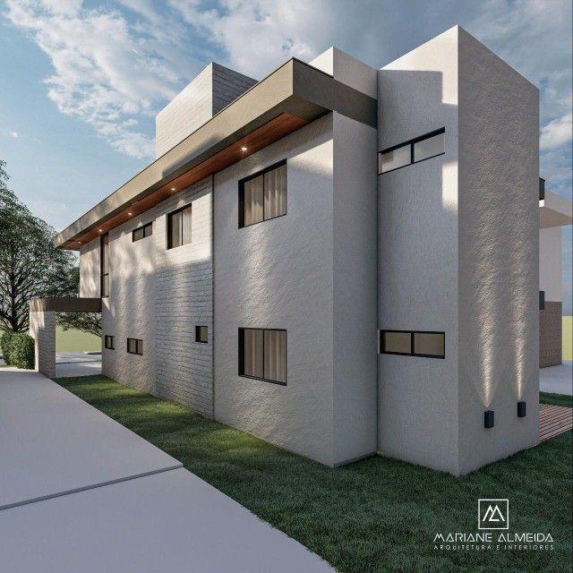 Casa moderna de 5 quartos sendo 2 suítes no condomínio Terras Alphaville. - Foto 4