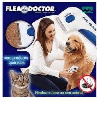 Escova Elétrica Anti Pulgas Carrapatos Piolho P Cães E Gato - Foto 3