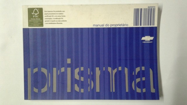 Manual do Proprietário: Celta, Classic, Prisma, Montana e Meriva - Foto 14