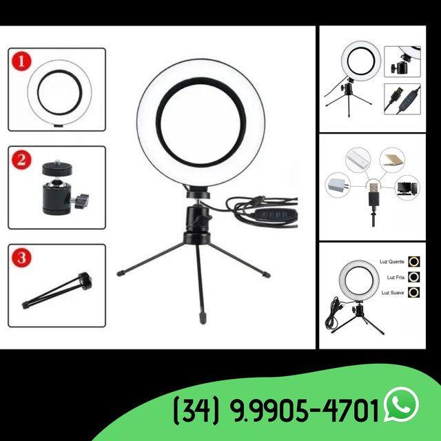 Ring Light Led de mesa 6 polegadas- 16 cm - Foto 3