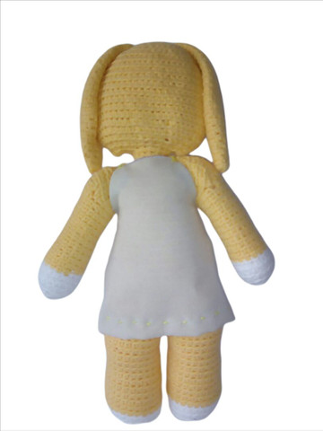 Coelhinha em crochê Amigurumi Y.A.M Artesanato - Foto 3