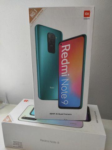 REDMI Note 9 da Xiaomi.. Novo LACRADO Garantia e Delivery 90 minutos
