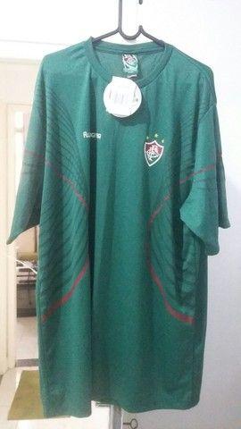 Camisa Fluminense Nova Braziline tamanho  ExtraGG - Foto 5
