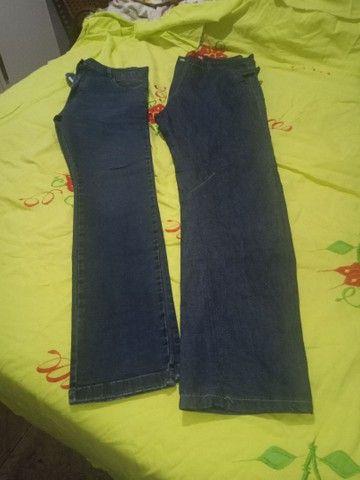 Várias calças semi nova