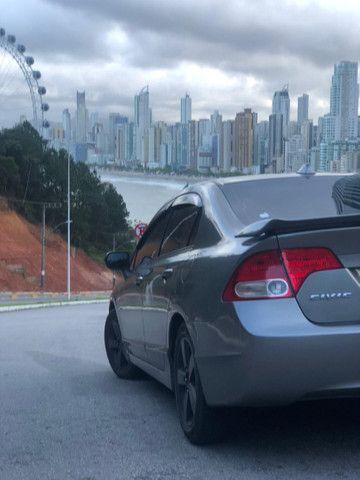Civic 1.7 automático banco de couro, carro top - Foto 5