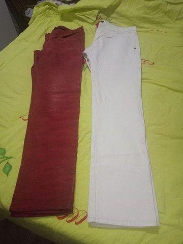 Várias calças semi nova - Foto 2