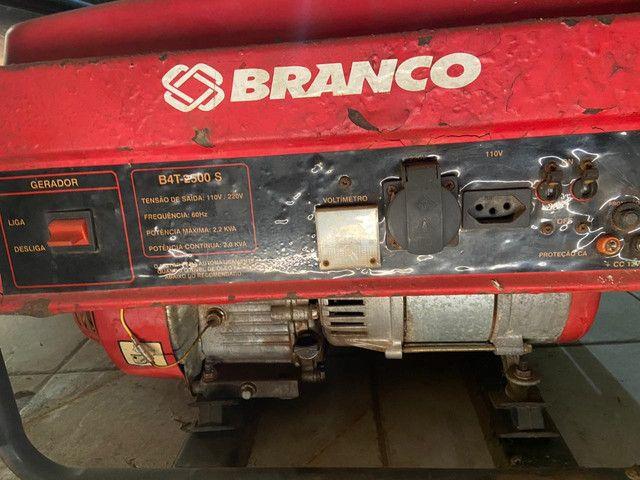 GERADOR BRANCO B4T-2500S - Foto 3