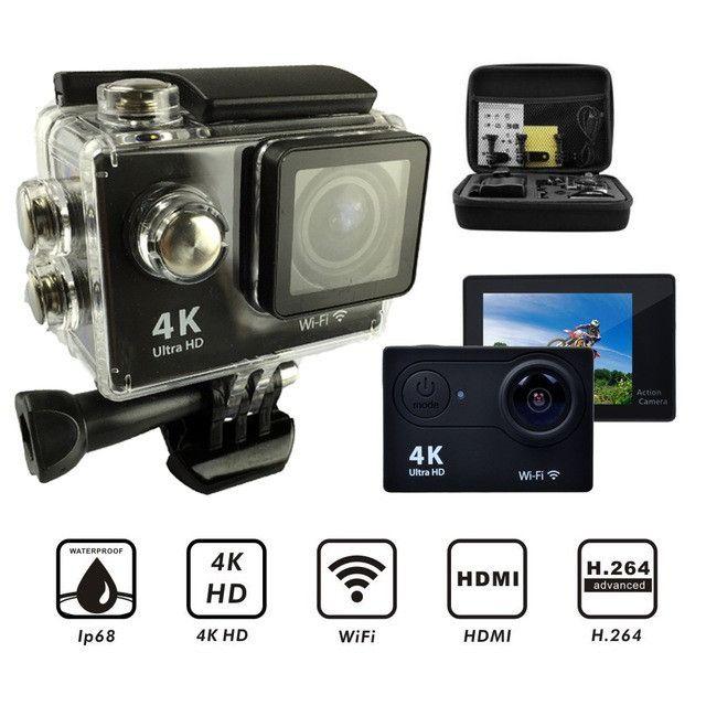Câmera Sports Cam 4k Full Hd 1080 Wifi - Foto 6
