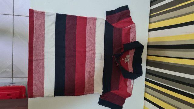 Camisa gola Polo Pool Kids Riachuelo tam. 3 anos - Foto 2