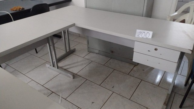 Mesa de Escritório em L - Foto 3