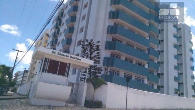Apartamento residencial para locação, Tambauzinho, João Pessoa.