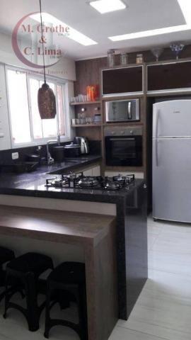 Oportunidade apartamento mobiliado de 122 m² e 4 dormitórios no splendor garden jardim das - Foto 8