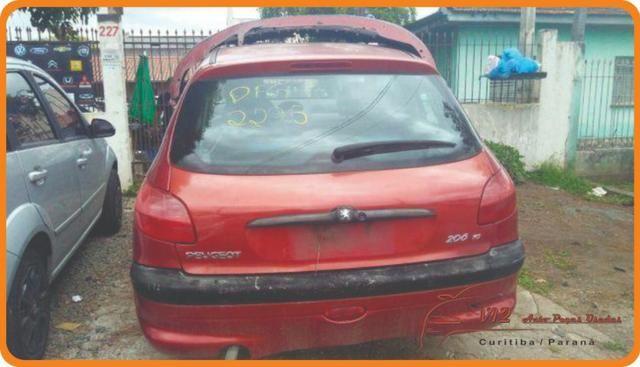Peças do Peugeot 206 1.4 Hatch 2003 (sucata somente para peças)