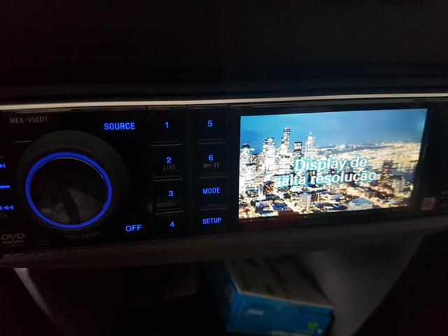 Som automotivo Sony Dvd e TV