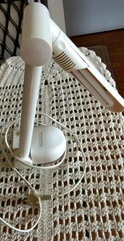 Luminária de mesa branca - 110v - Sem frete