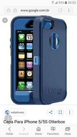 Capa super protetora p iphone 5/5s