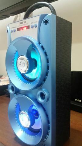 Caixa de som nova usb Bluetooth recarregável nova
