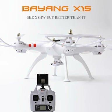 Drone rc x15 com camera 4k