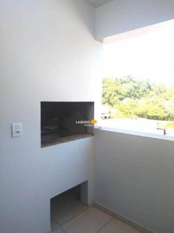 Apartamento com 2 dormitórios para alugar, 64 m² por r$ 590/mês - montanha - lajeado/rs - Foto 10
